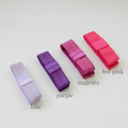 soft elastic - purple and pink