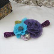 Purple & Aqua - 1