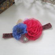 Pink & Antique Blue - 1