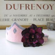 Pink - Purple Silk Flower