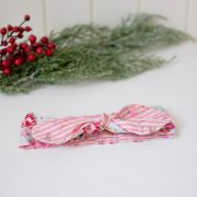 tie knot - floral & stripes