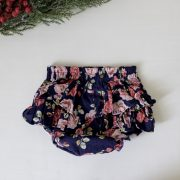 Cotton Print Bloomers - navy