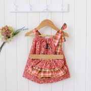 Red Orange Floral Set