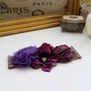 Plum & Mauve Lace Couture