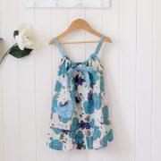 Lucille - Spring Floral Blue