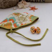Sun Bonnet - Lime Green
