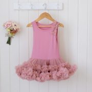 Petti Dress - Vintage Rose