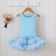 Petti Dress - Sky Blue