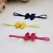 Petite Signature Bow Headband in Brights