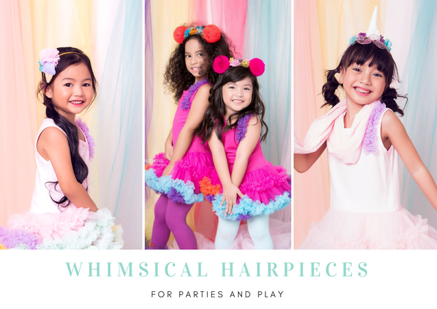 Shop Whimsical Hairpieces