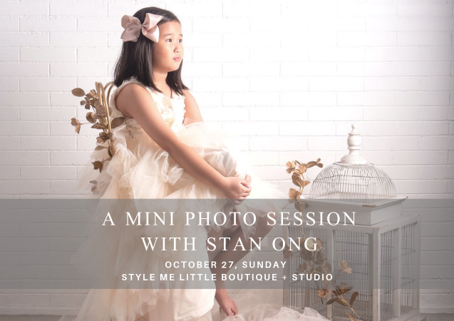 Style Me Little x Stan Ong Photography